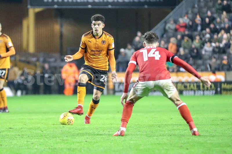 2018 EFL Championship Football Wolves v Notts Forest Jan 20th