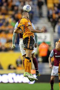 2017 EFL Championship Football Wolves v Aston Villa Oct 14th
