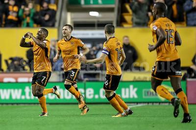 2017 EFL Championship Wolves v Leeds Utd Nov 22nd