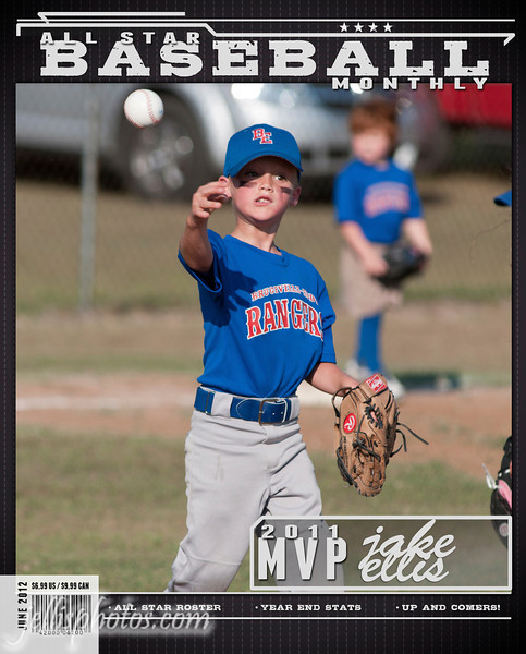 Magazine Cover (Baseball)