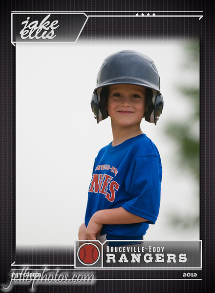 Trading Card (Baseball) **Cards will include back printing.  Your choice of information about your child (name/age/team/position,etc.) along with a secondary picture of your child will be included on the back of cards.
