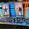 Jumbotron @ Cowboys Stadium Monday Night Football