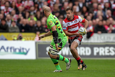 2017 Aviva Premiership Gloucester v Saints Oct 7th