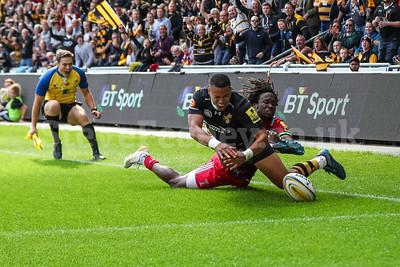 2017 Aviva Premiership Rugby Wasps v Harlequins Sep 17th
