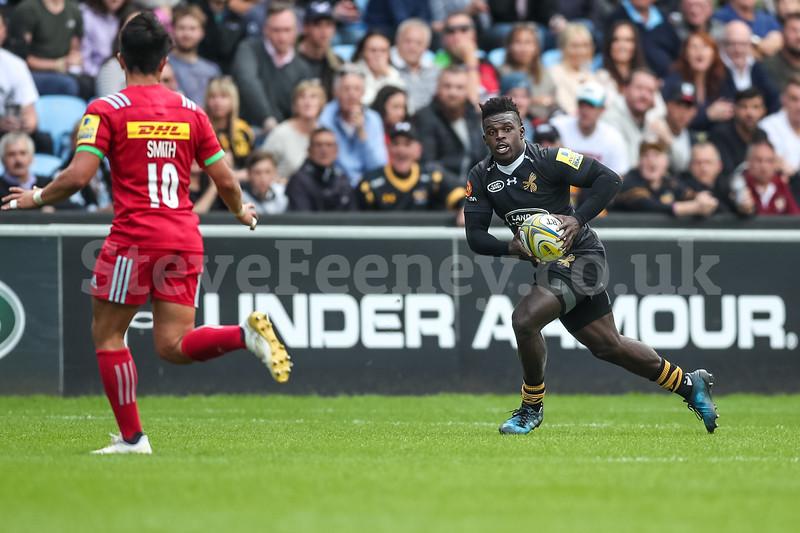 2017 Aviva Premiership Rugby Wasps v Harlequins Sep 17th