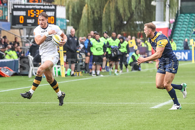 2017 Aviva Premiership Rugby Worcester Warriors v Wasps Sep 10th