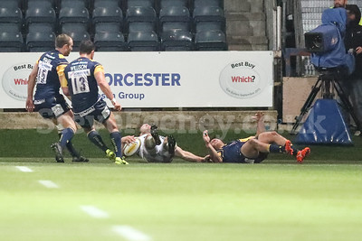 2017 Aviva Premiership Worcester v Saracens Sep 29th