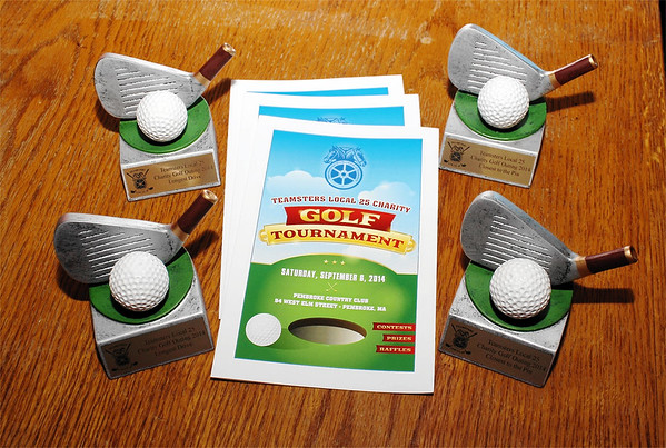 Teamsters Local 25 Charity Golf - Sept. 6, 2014