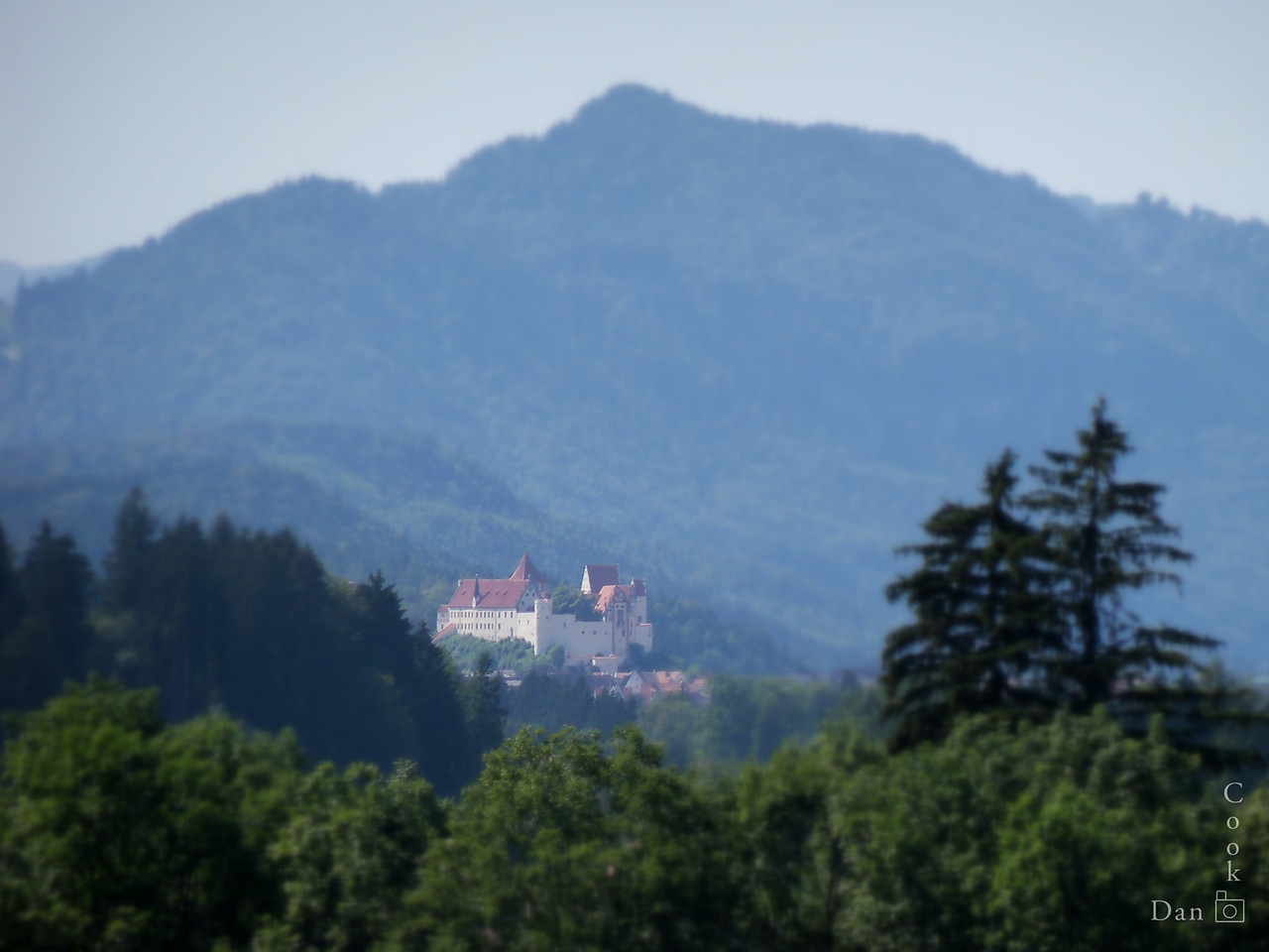 Schloss Hohenschwangau in Bavarian region of Germany