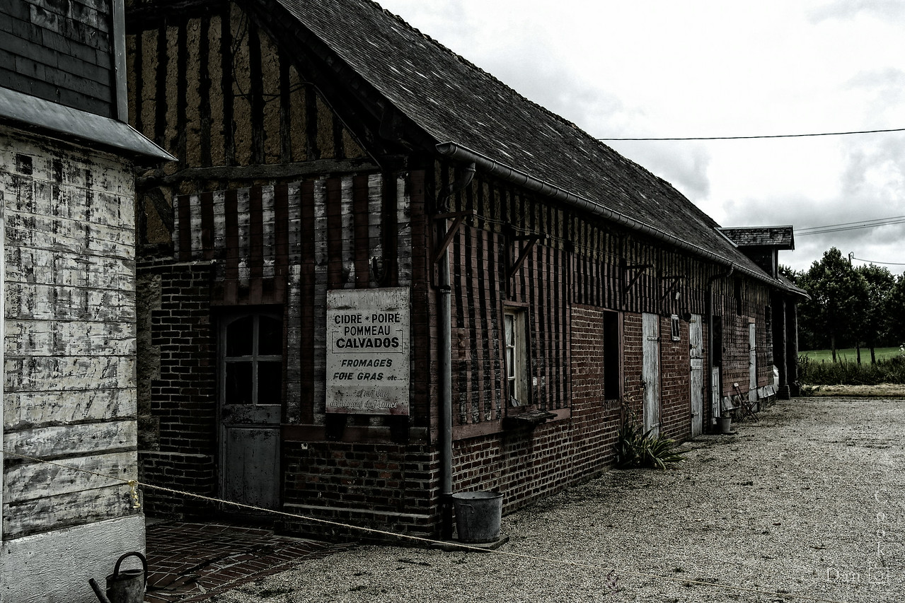 Old farm in Normandy, France