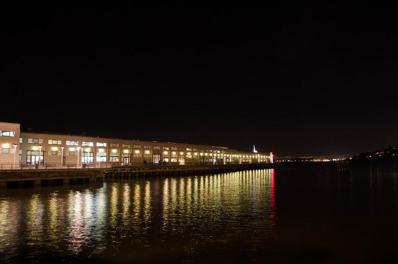 Pier next to Ferry Building, SAn Francisco, CA