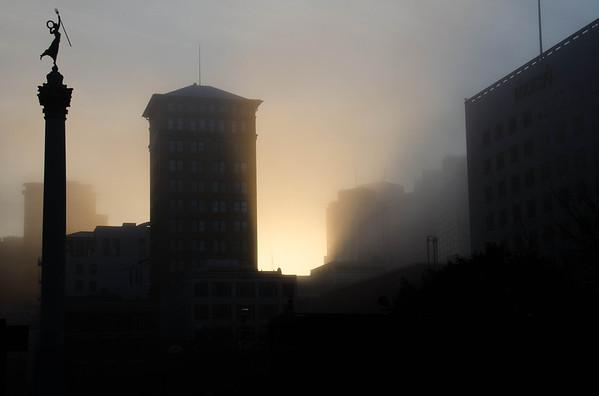 Golden Hour, Union Square, San Francisco, CA