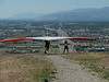 hang gliding at Point of the Mountain, just south of Salt Lake City, Utah