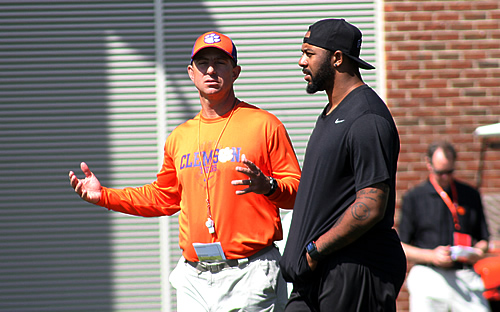 Swinney and Tajh Boyd