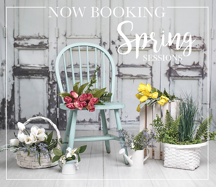 Now booking for Easter/Spring Mini Sessions! $100