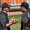 Joe Girardi Coaching Curtis Granderson