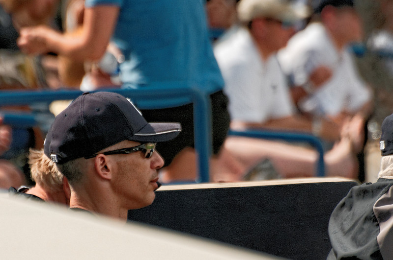 Girardi Observes the Action