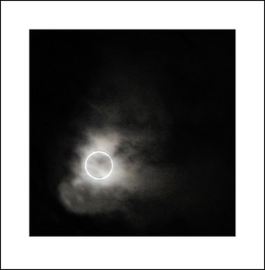 Sun eclipse on May 21, 2012