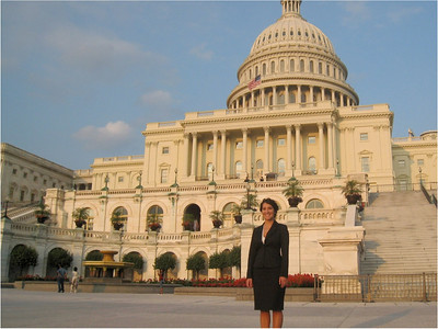 Camille Palacio: Camille, a 2008 GWU grad, works on Capitol Hill for the Corporation for Enterprise Development, a non-profit corporation which works to expand economic opportunity for American citizens.