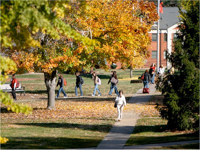 The Seasons at GWU: In addition to the easy access to outdoor sports, Gardner-Webb's location also affords the richness of all four seasons without summer's typical grueling heat and winter's bitter cold.  Spring and Autumn at GWU are particularly beautiful, as many of the trees on campus explode in fiery oranges and vivid yellows, or bloom in luscious pinks and whites.  Students who attend Gardner-Webb often say our beautiful campus is the very definition of what a college should look like.