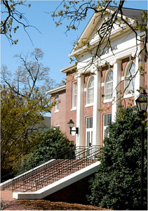Hamrick Hall: Located on the Quad just next to the DCC, Hamrick Hall is home to Gardner-Webb's internationally competitive Godbold School of Business, which offers both the most popular undergraduate major of business administration and the most popular of GWU's graduate programs, the MBA.  Hamrick also houses Blanton Auditorium, a beautiful lecture and performance hall that often features student concerts and recitals, Res Life sponsored movies, concerts by world-renowned classical musicians, and more.