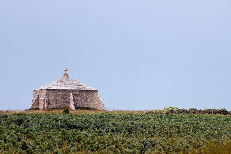 The Norman Chapel at St Aldhelm's Head.