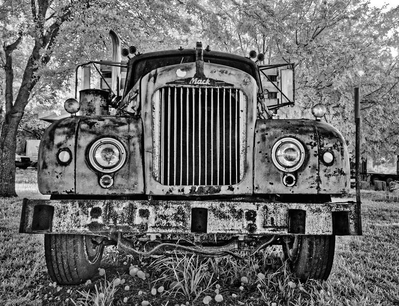 Antique Mack Firetruck