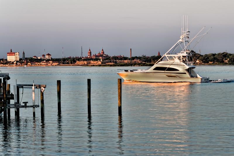 St. Augustine, Florida Harbor