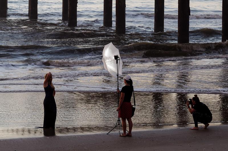 Sunrise Model Photo Shoot