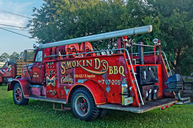 Smokin' D's BBQ's FWD Firetruck