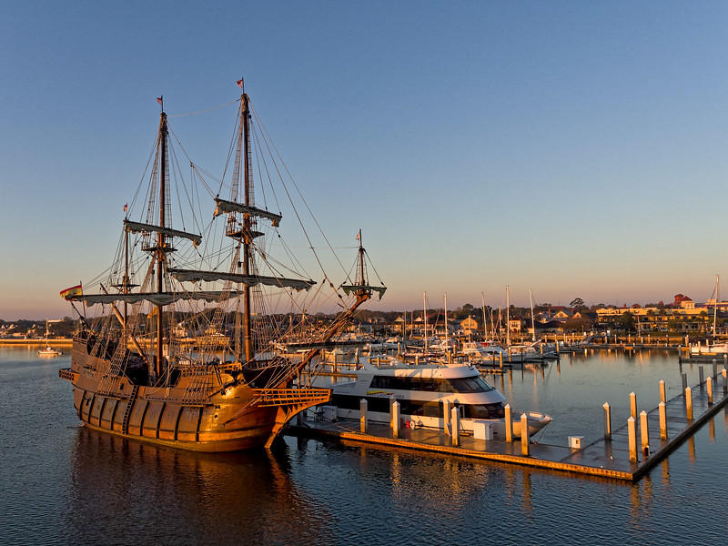 El Galeon at St. Augustine Marina