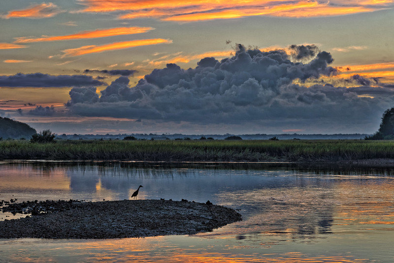 Moultrie Creek  on Matanzas River at Sunrise