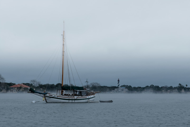 Foggy Morning in St. Augustine
