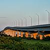 Vilano Beach Bridge in the morning sun