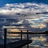 Tolomato River Morning Sky