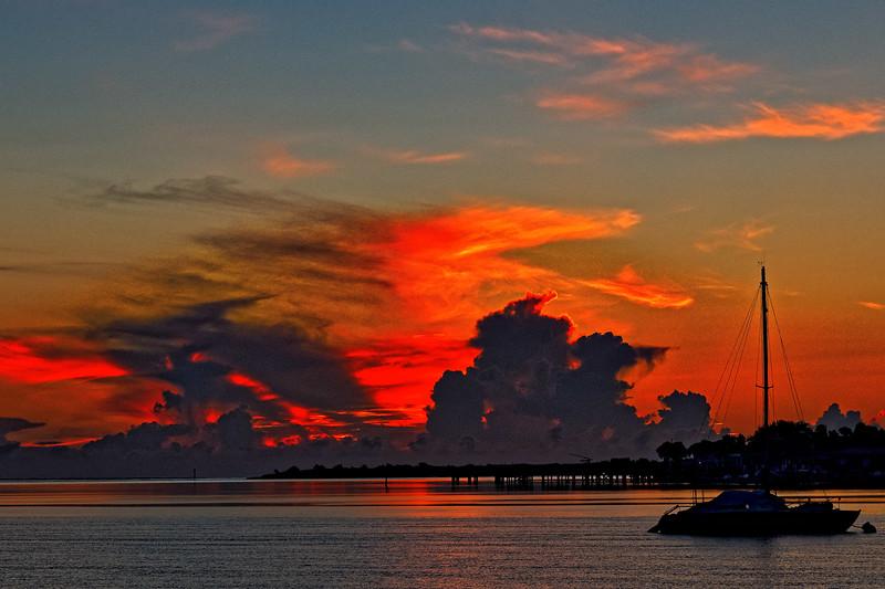 Sunrise over the Matanzas River