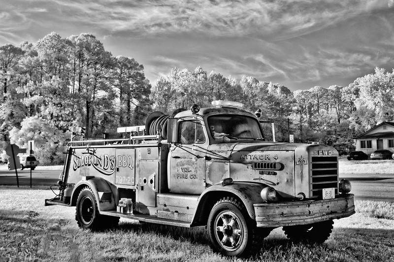 Antique FWD Firetruck