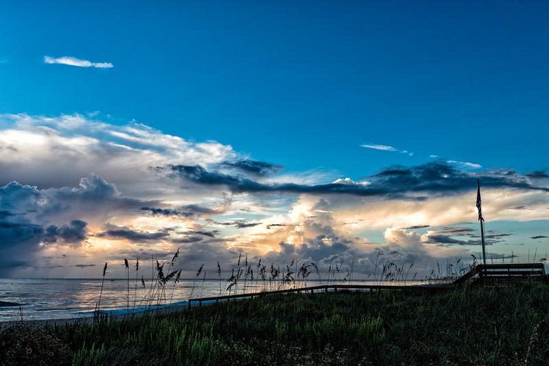 Vilano Beach Morning Sky