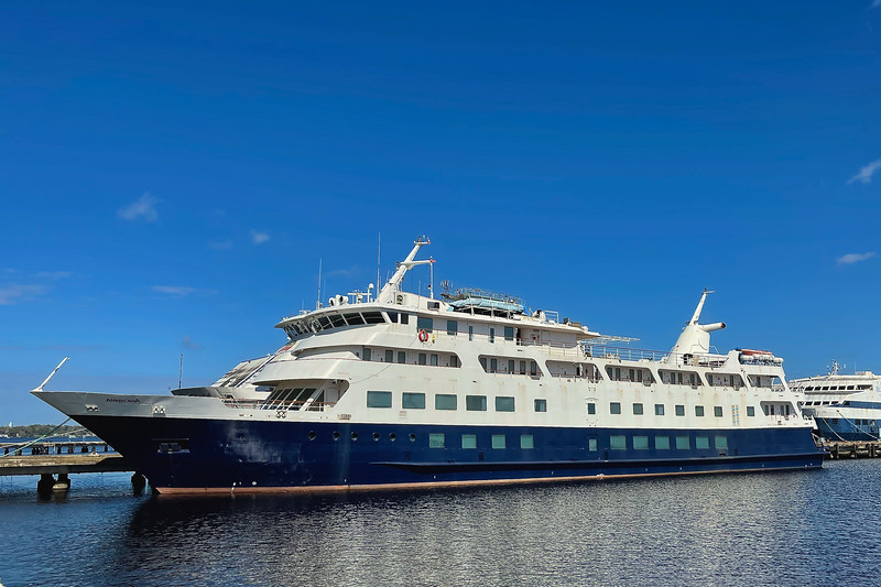 Casino Cruise Ship moored in Green Cove Springs