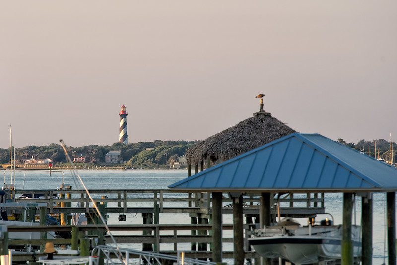St. Augustine Lighthouse from Vilano Beach Pier