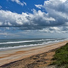 Looking South on Vilano Beach