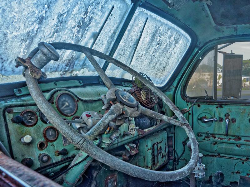 Cab of FWD Firetruck