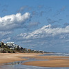 Looking North on Vilano Beach