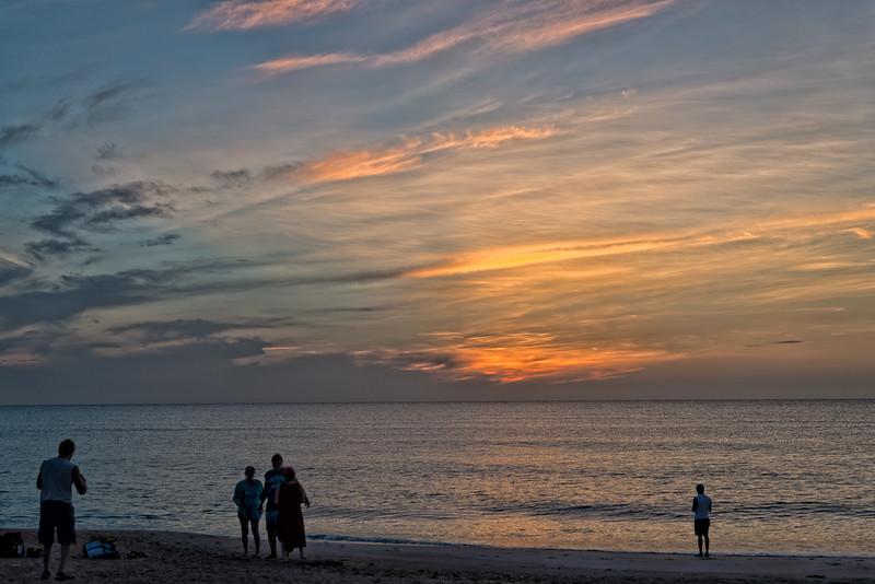 Sunrise on Vilano Beach