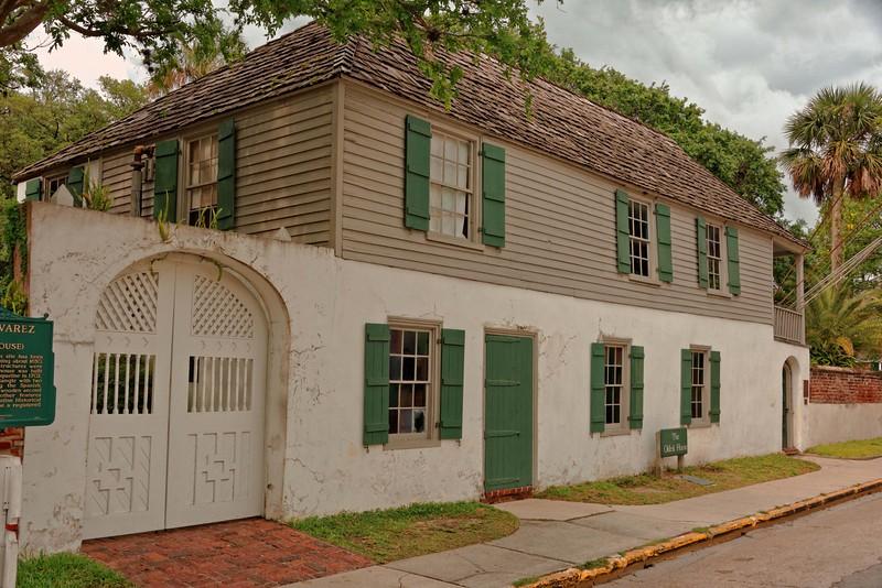 The González-Alvarez House - the oldest surviving Spanish Colonial home in Florida.