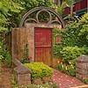 Garden Gate in Old Town