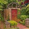 Garden Gate in Old Town
