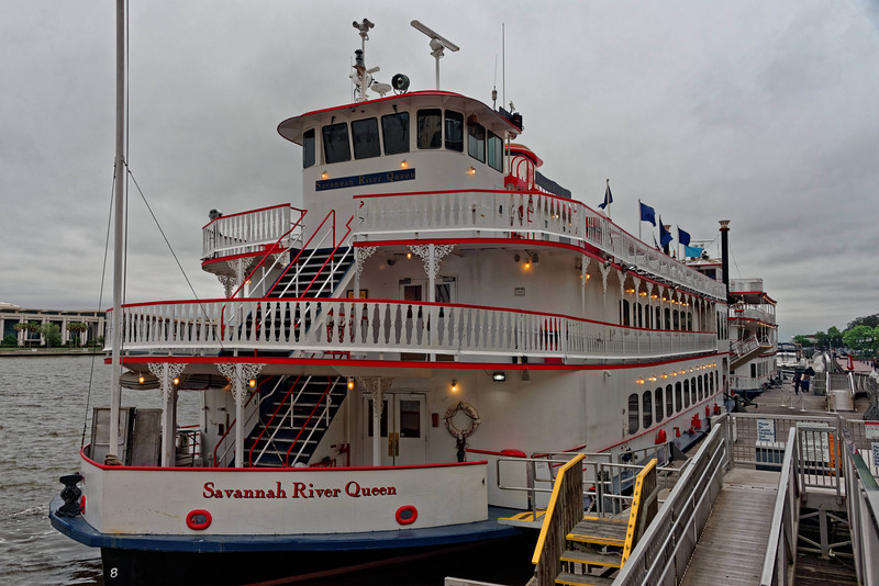 Front View of Savannah River Queen