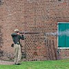 Demonstration musket firing