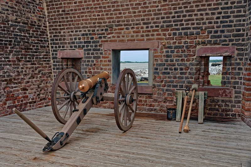 Cannon and Firing Port.